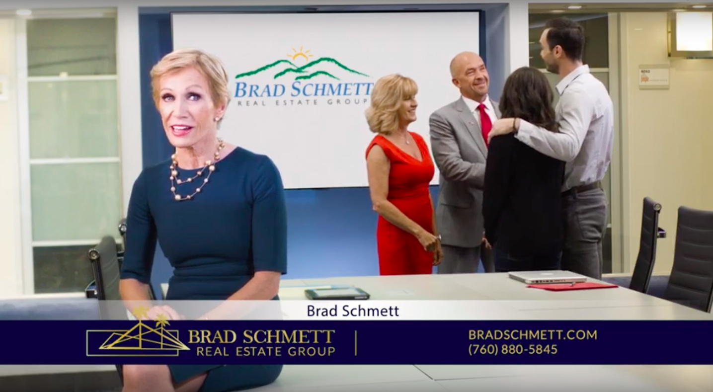 Barbara Corcoran Recommends Brad Schmett Real Estate Group