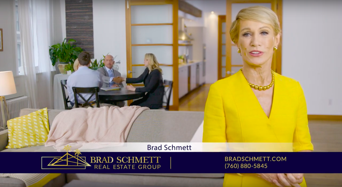 Barbara Corcoran Recommends Brad Schmett for the Palm Springs Area