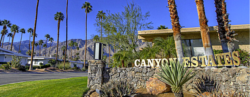 Canyon Estates community