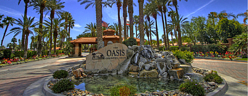Oasis Country Club community