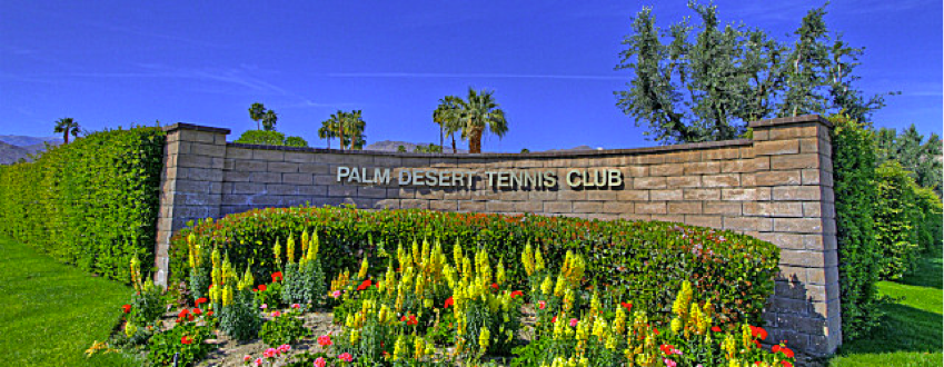 Palm Desert Tennis Club community