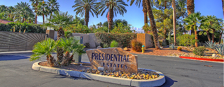 Presidential Estates community