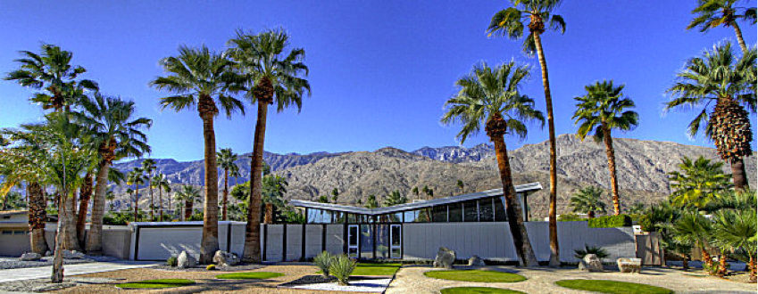 Twin Palms community